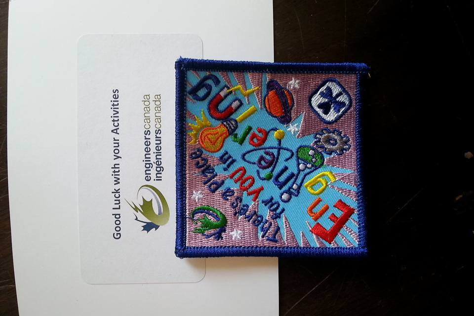 Picture of Girl Guides Engineering Badge